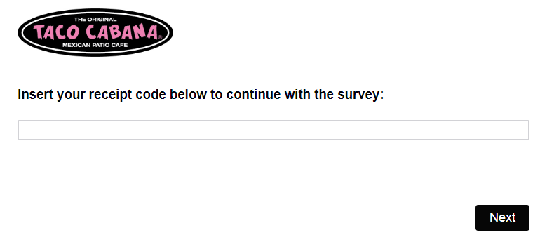 Taco Cabana Customer Feedback Survey