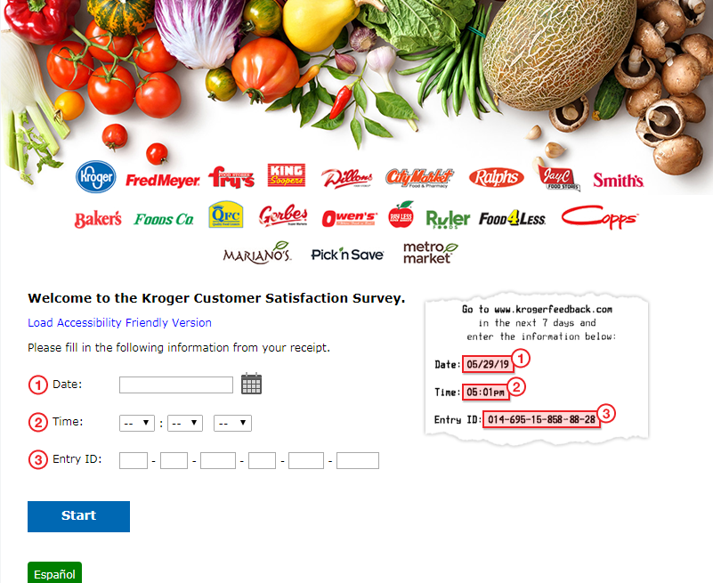 Kroger Customer Feedback Survey