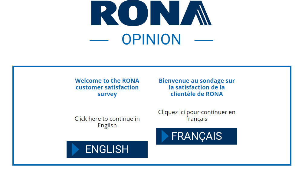 RONA Opinion Survey 2020