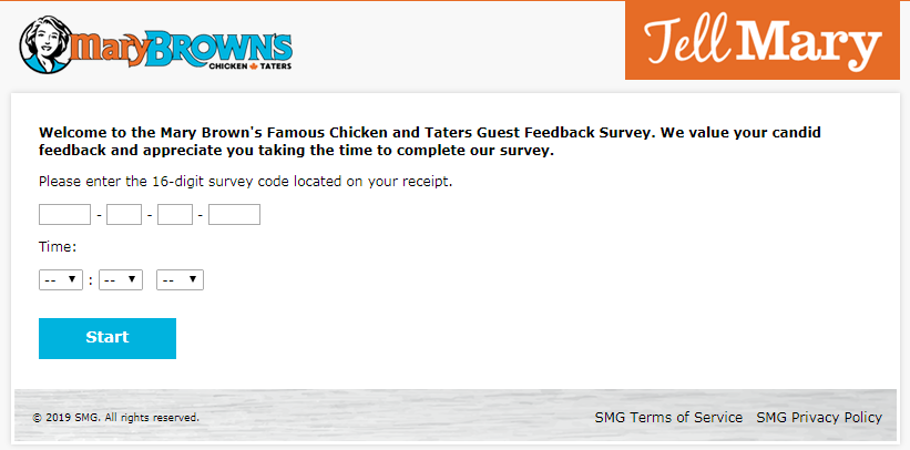Mary Brown's Customer Satisfaction Survey